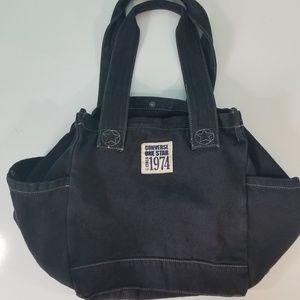 f0bbe8431ff5 Converse One Star Black Denim Tote Bag 833